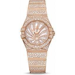 Omega Constellation Luxury Edition Diamonds 123.55.27.60.55.009