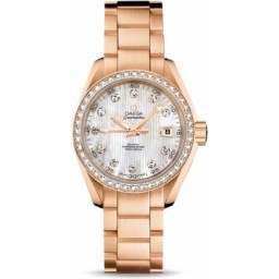 Omega Seamaster Aqua Terra Jewellery Chronometer 231.55.30.20.55.001