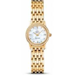 Omega De Ville Prestige Quartz Small Diamonds 4175.76.00