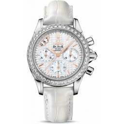 Omega De Ville Co-Axial Chronograph Diamonds 422.18.35.50.05.001