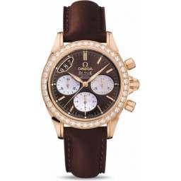 Omega De Ville Co-Axial Chronograph Diamonds 4677.60.37