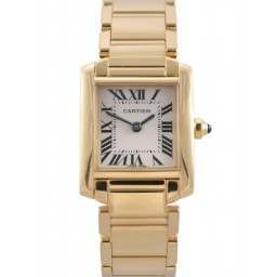 Cartier Tank Francaise Yellow Gold Quartz W50002N2