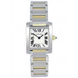 Cartier Tank Francaise Small Steel and Gold W51007Q4