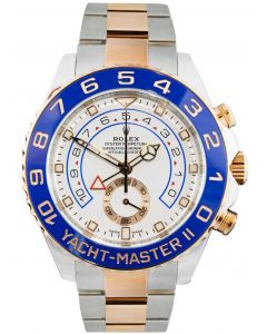 Rolex Yacht-Master II 44mm White Dial Oyster 116681