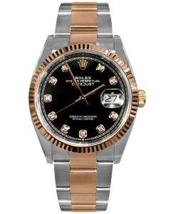 Rolex Datejust 36mm Everose Gold & Steel/ Oyster 126231