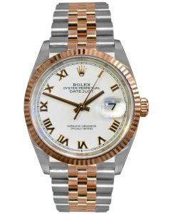 Rolex Datejust 36mm Rose Gold & Steel/ Jubilee 126231