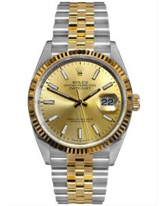 Rolex Datejust 36 Champagne Dial Jubilee 126233