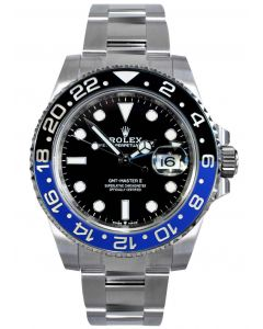 Rolex GMT-Master II Stainless Steel Oyster 126710BLNR - 2021 Release