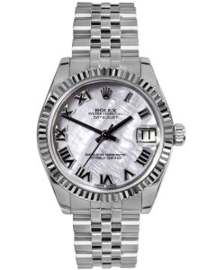Rolex Lady Datejust 31mm Mother of Pearl Dial Jubilee 178274