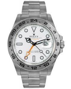 Rolex Explorer II White Dial Oyster 216570