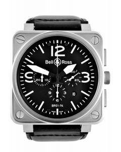 Bell & Ross BR01-94 Steel Black