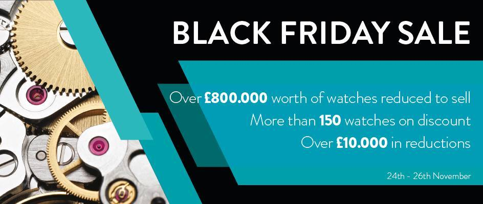 Iconic Watches - Black Friday Offer